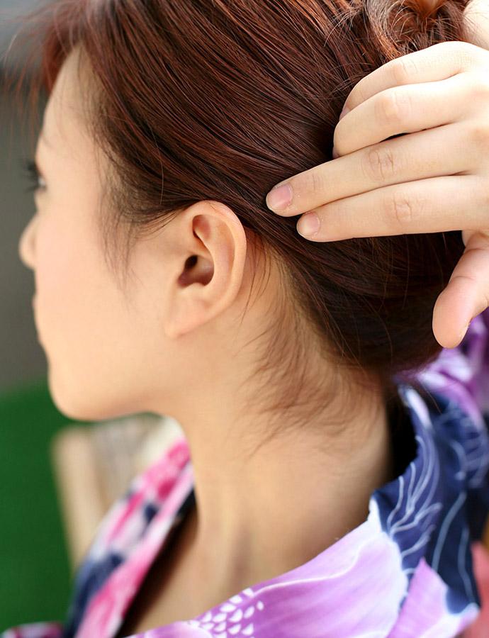 【フェチ系微エロ画像】ただの首筋のはずが…理由は不明でも兎に角イヤらしく見える女のうなじwww 06