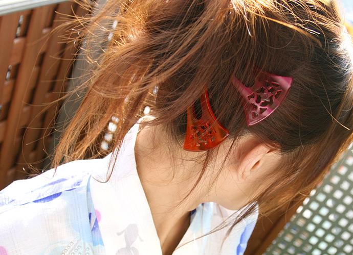 【フェチ系微エロ画像】ただの首筋のはずが…理由は不明でも兎に角イヤらしく見える女のうなじwww 09