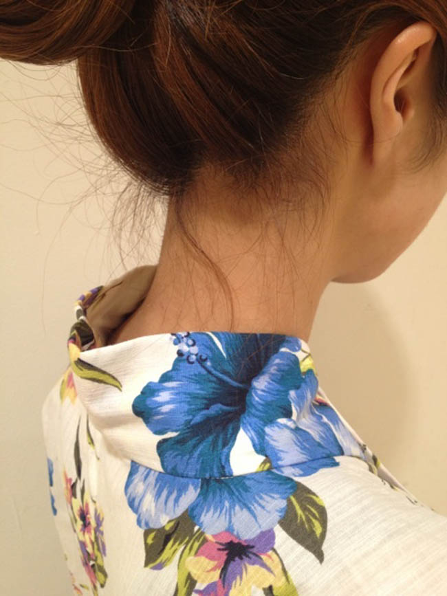 【フェチ系微エロ画像】ただの首筋のはずが…理由は不明でも兎に角イヤらしく見える女のうなじwww 12