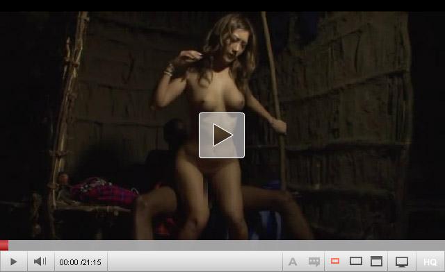 【三次エロ動画】ビッチな黒ギャルがアフリカの大地でブラックペニスに撃沈www 03