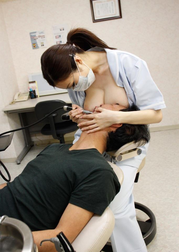 おっぱい押し付けてくれるエッチな歯科衛生士ww画像25枚 05
