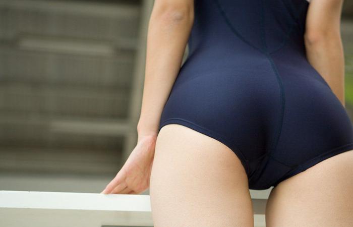 【スク水エロ画像】似合いそうなら土下座してでもっ!彼女に着せたいスク水www