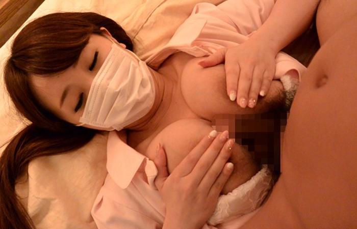 【三次エロ動画】治療中におっぱい当てまくるHカップ歯科衛生士をマスクのままデビューさせましたwww