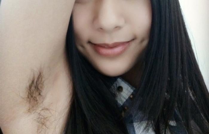 【腋フェチエロ画像】美人でもガッカリ…正直剃って欲しいアジア娘の腋下www