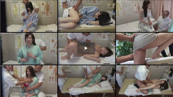 歌舞伎町 整体治療院から流出。色白の美乳を揉みしだかれたハーフ顔のファッションモデル 03