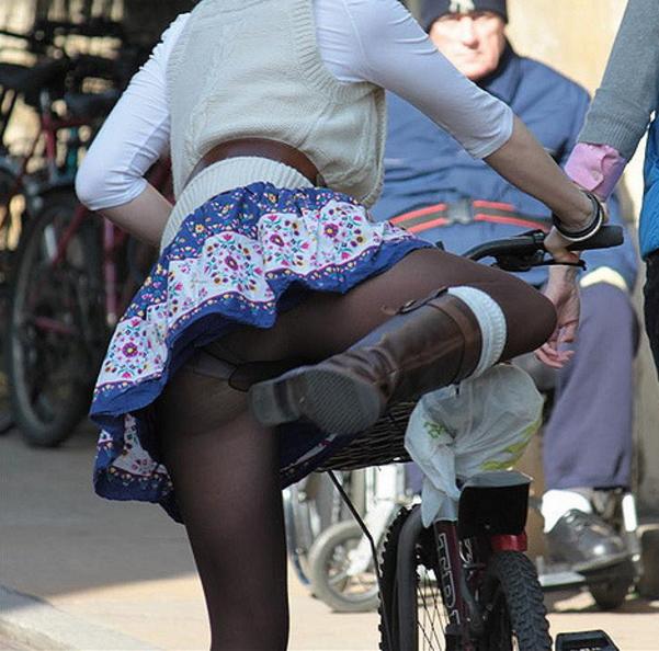 【※下心注意※】「自転車女子近辺待機組男子」 が受けた恩恵30パターンを画像付きで紹介するスレwwww(画像あり) 04
