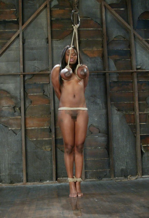 【※閲覧注意※】「おっぱいだけで吊るしてみた」 とかいう画像ギャラリーがヤバ杉て引いた。。。(画像あり)  01
