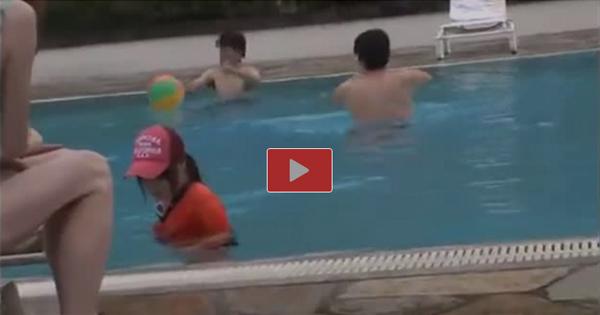 プールで監視員をしている美人女子大生の水着を剥ぎ取ってレイプ! 03